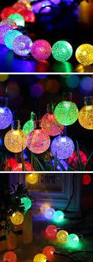 diy outdoor lighting ideas. Multicolored Solar String Lights   Cheap Outdoor Lighting Ideas For Weddings Easy Garden Diy D