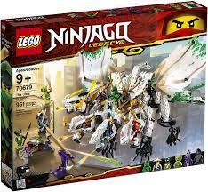 LEGO Ninjago 70679 - Chúa tể rồng 4 đầu - Đồ chơi Minecraft chính hãng