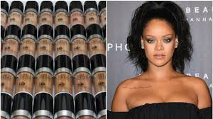 rihanna responds to make up for ever foundation ments