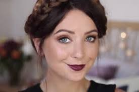 2016 zoella makeup tutorial zoella zoella 39 s autumnal look