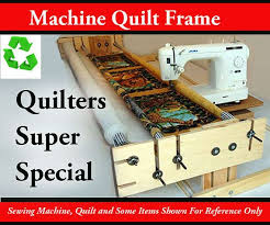 58 best DIY quilting frame for home sewing machines images on ... & home quilt frame Adamdwight.com