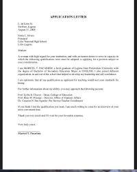sample for cover letters cover letter sample for job application fresh graduate http example