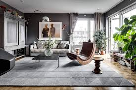 gorgeous gray living room. Gorgeous Gray Living Room. Space Of The Light-filled Stockholm Apartment Room