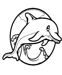 Coloring Pages Draw A Dolphin Coloring Pages Coloring Pages Draw A