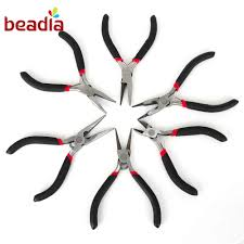 <b>1pcs Black</b> Nipper <b>Pliers</b> Electrical Beading Wire Cable Hand Tools ...