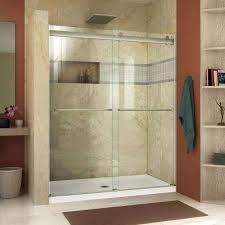 amazing glass bathroom door shower the home depot semi frameless sliding interior that fog when locked uk miami lowe for tub