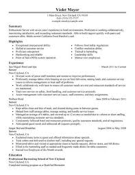 ... Cool Food Runner Resume 13 Service Resume Food Runner Job Description  Resume ...