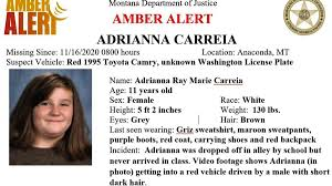We did not find results for: 11 Year Old Montana Girl Safely Located In Vancouver After Amber Alert Monday Clarkcountytoday Com