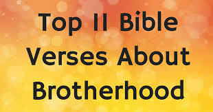 Christian Brotherhood Quotes Best of Top 24 Bible Verses About Brotherhood ChristianQuotes