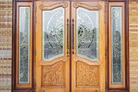 characteristics of wooden glass doors
