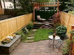 Small Picture Small Backyard Design Home Interior Decorating