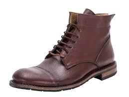 washed leather chukka