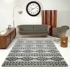 elegant indoor trellis carpet area rug in ivory grey abo1279 5x8 7x10