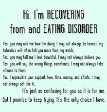 Eating Disorder Recovery Quotes Simple Eating Disorder Recovery Quotes My Eating Disorder Pinterest