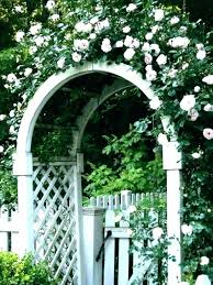 iron garden arbors for vintage