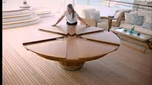 Expandable Circular Dining Table Incroyable Expandable Round Dining Table Youtube