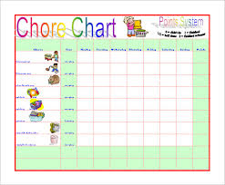 Imom Chore Chart 17 Chore Chart Template Free Sample Example Format
