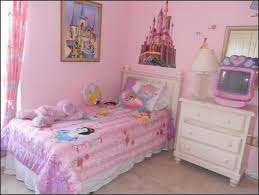 Little Girls Bedroom Paint Beautiful Girl Bedroom Inspired With Pink Wall Paint Color And