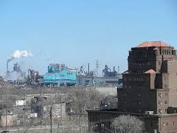 gary works steel mill indiana rust belt