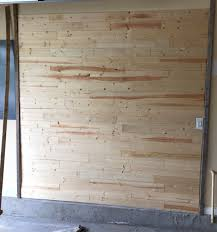 tongue and groove wall