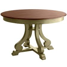 marchella round dining table sage brown