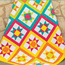 298 best Free Quilt Patterns images on Pinterest | Baby quilts ... & Vibrant Ohio Star Quilt Pattern can be created using GO! Ohio Finished GO! Adamdwight.com