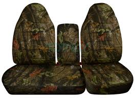 ford f 150 60 40 high back brown real tree camo seat covers