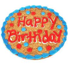 Cookie Cake Decorating Ideas Birthday Happy Birthday Cookie Cake