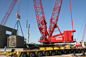 Crane Rental Corporation Manitowoc 18000 Works In A Power