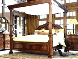 Tag Archived Of Dark Wood Canopy Bed Frame : Wood Canopy Bed   stvol