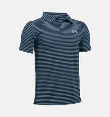 under armour golf shirts. boys\u0027 ua playoff stripe polo 3 colors $39.99 under armour golf shirts