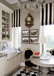Typically I like a thick horizontal stripe on drapes but the 2nd picture  with the thin vertical stripes makes the room look taller and more  feminine. ...