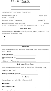 essay layout template essay formats for college writing a college essay format college
