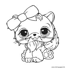 Small Picture LITTLEST PET SHOP Coloring Pages Free Printable