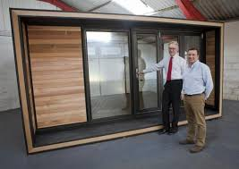 Smart garden office Cool Mark Penlington Left Chairman Of The New Anglia Lep With Charlie Dalton Founder Bury Free Press Smart Garden Offices Says Move To Thurston Has Brought The World Closer
