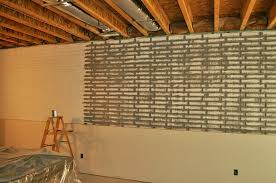 painting concrete wallsBasement Concrete Wall Ideas Painting Concrete Basement Walls