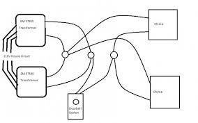 doorbell system wiring diagram doorbell image wiring diagram for second doorbell chime wiring diagram on doorbell system wiring diagram