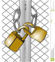 Image result for gates locked clipart