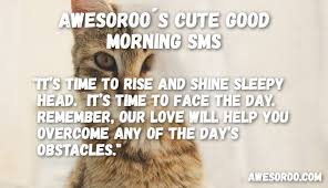 Good Morning Text Message Quotes Best of 24 [REALLY] Cute Good Morning Text Messages For Her July 24