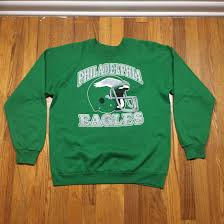 Philadelphia Eagles Sweater With Lights Vintage 80s Philadelphia Eagles Crewneck Sweatshirt Size M