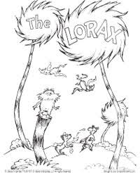 Small Picture Lorax Coloring Page Dr Seuss Pinterest Lorax Earth and School
