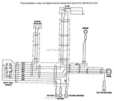 scag sw bv parts diagram for ground wire harness engine deck wire harness 16hp bv electric start