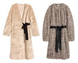h m faux fur coats 99 99