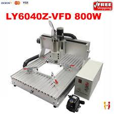 free desktop 3 axis cnc milling machine ly cnc router 6040 z vfd