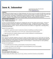 Bookkeeper Resume Stunning Bookkeeper Resume Sample Summary Creative Resume Design Templates