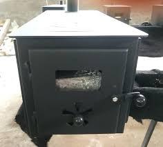 wood stove doors improved firebox door latch burner