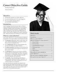 Objective Career Objective Resume Examples
