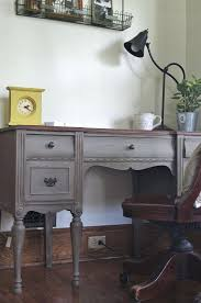 painted office furniture. Best Desks Secretaries Chalk Paint Ideas Images On French Linen And Dark Am The Of A Bread Honey White Painted Office Furniture W