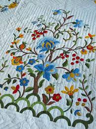 60 best Amish quilts images on Pinterest | DIY, Colors and Embroidery & Vintage Quilt Tree of Life Pattern Amish Made by JustTooMuch Adamdwight.com