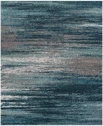 8 10 blue gray area rug